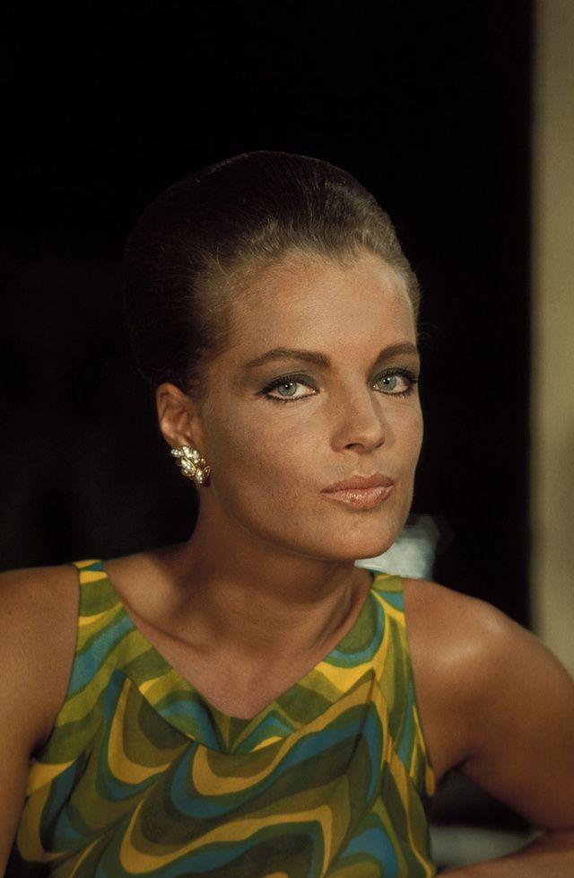 Les plus belles photos de Romy Schneider 1968