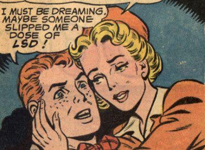 Jimmy Olsen on drugs