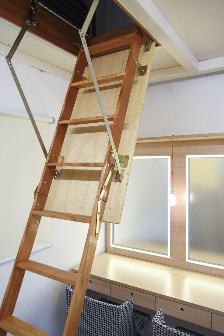 Decora Rosenbaum Temporada 2 - Camarim. Decoração zen, escada de alçapão. Foto: Felipe Felco Valle