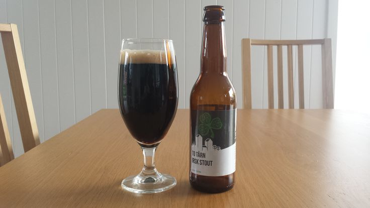 Day 161:Diary entry: Finished the photo edits for my next Botswana post. Then it was on to the video and the writing. Didn't get it all done but should be on course for tomorrow. The Beer: Irsk Stout (Irish Stout) from To Tårn of Trondheim, Norway. Been some time since I've had one from my absolute closest brewery – To Tårn a few stops down on the tram from here. This is an excellent smoky stout with a lovely deep flavour.