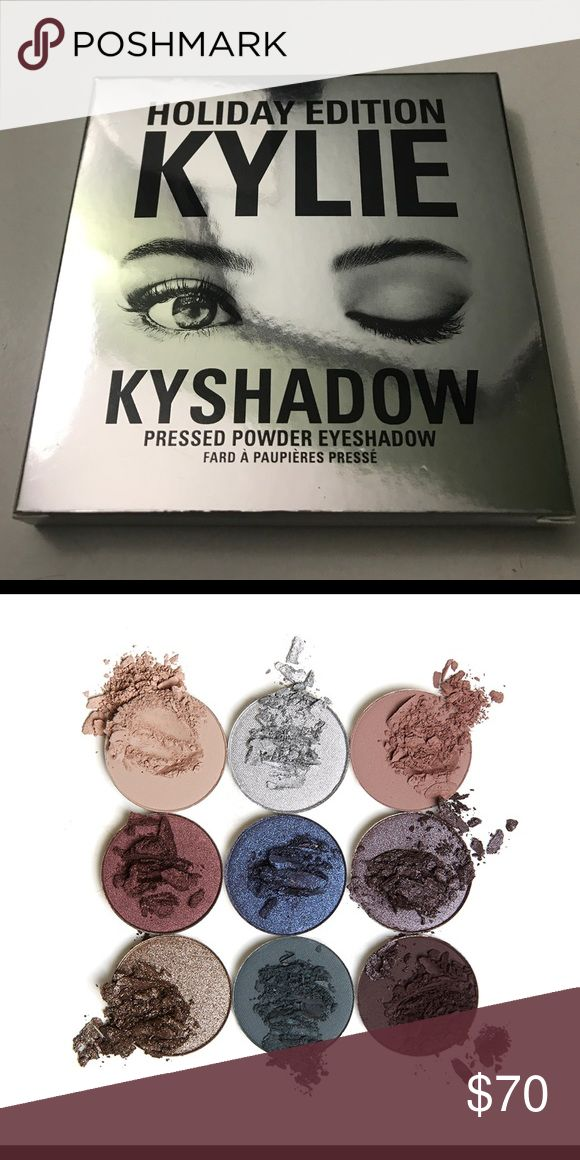 Kyshadow by: Kylie Jenner ❄️ Holiday Edition ❄️ authentic makeup purchased from Kylie's website - receipt upon request - BRAND NEW Kylie Cosmetics Makeup Eyeshadow