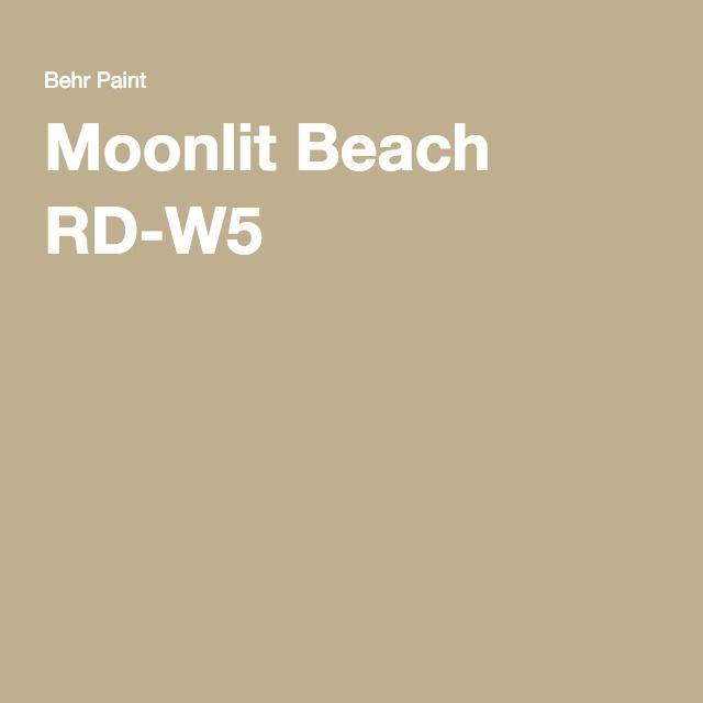 Moonlit Beach Rd W5 In 2019 Behr Paint Colors Behr
