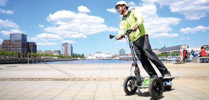 Scuddy eScooter: Die neue Freiheit auf drei Rädern!