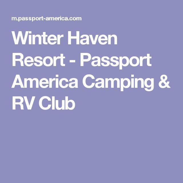 Winter Haven Resort - Passport America Camping & RV Club