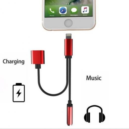 2in1 Lightning To Ios 10.3 Audio Headphone Adapter Charger Cable For Iphone7plus Array China