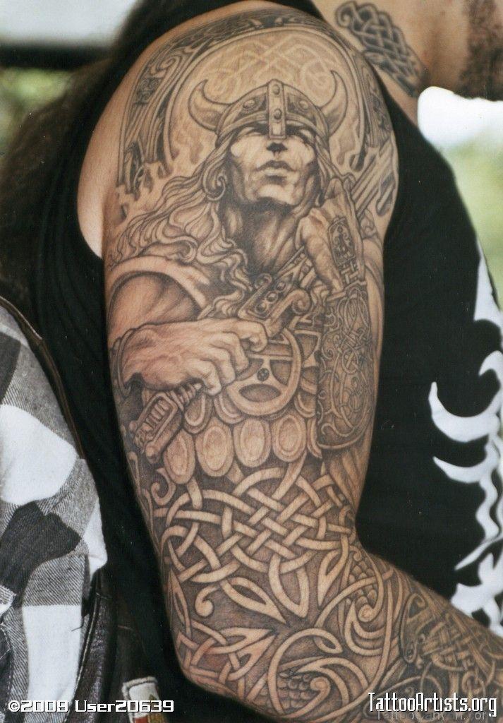 Irish Warrior Tattoos -celtic-warrior-tattoo-