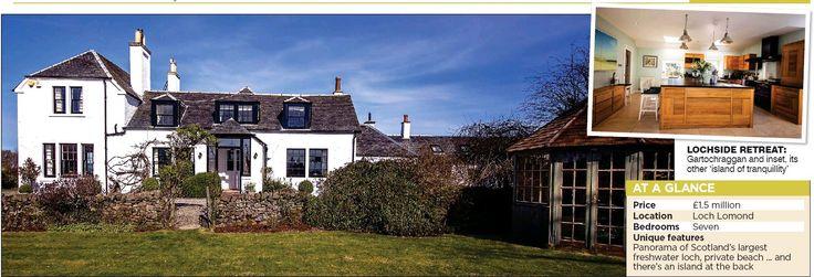 Island home was Scott's inspiration - Gartochraggan House