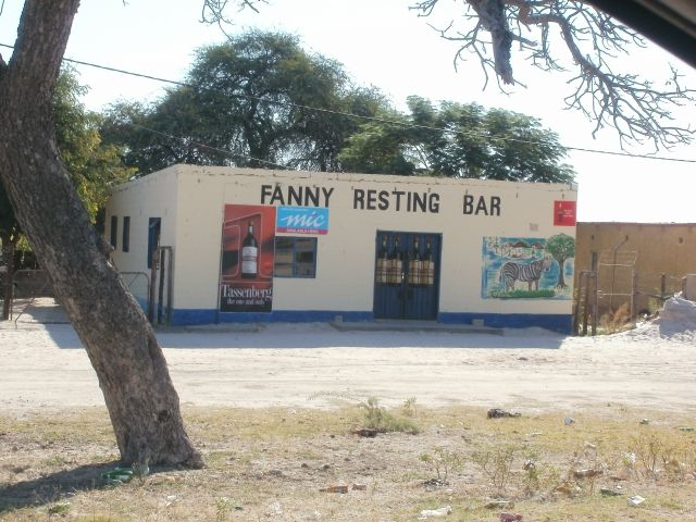 ... bars and shebeens alongside the main roads in Ovambioland, Namibia