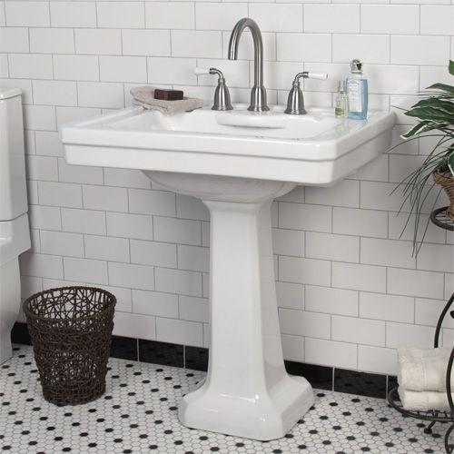 Bathroom Pedestal Sink Ideas: 17 Best Images About Pedestal Sinks On Pinterest