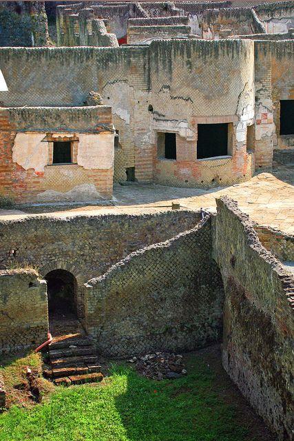 ruins at Pompeii, Italy
