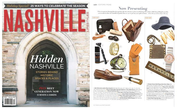 Nashville cover article