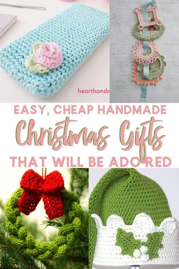 Crochet Knitting Christmas Gift Ideas Easy Handmade Christmas Gifts That Wi C Crochet Christmas Gifts Handmade Christmas Gifts Christmas Knitting