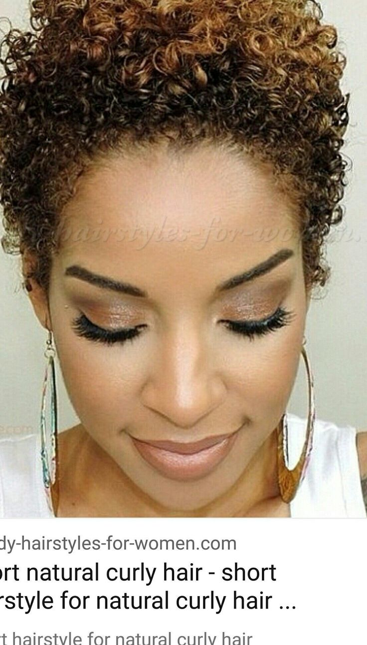 Luxury short natural curly hairstyles