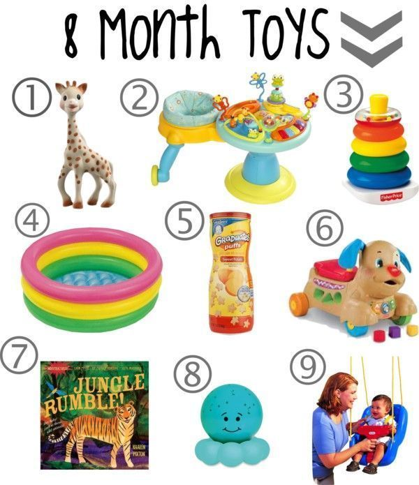 Top Toys For 7 8 Month