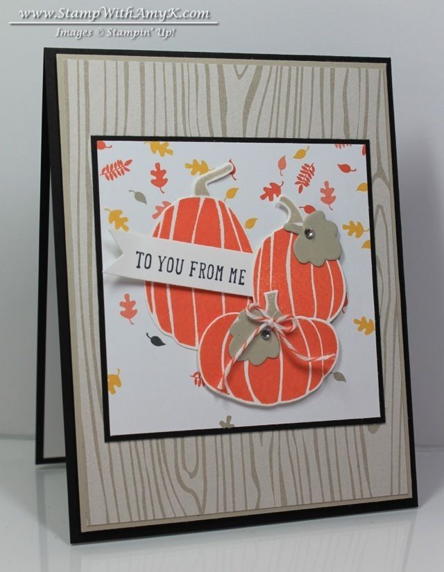 Fall Fest - Stampin' Up! - Stamp With Amy K