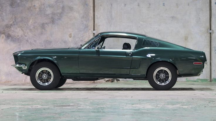 Steve McQueen and Bullitt There are few movie cars more famous than Steve McQueen's Highland Green Mustang Fastback from the 1968 film Bullitt. The 10 minute chase scene though the streets of San Francisco is regarded by many as the best in cinema history – Bullitt was a box office smash hit, and the film...