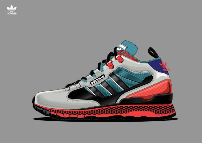 Stoop toothache journalist  Adidas Originals Miscellaneous Concepts by Nganga Villa Ismael at  Coroflot.com in 2020 | Shoe design sketches, Shoe inspiration, Sneaker boots