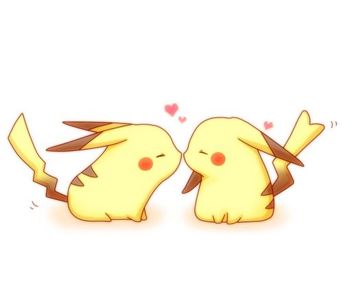 Most popular tags for this image include: love, pikachu, pokemon, anime and kawaii