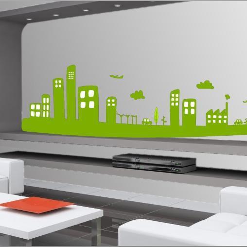 Σκίτσο πόλης, αυτοκόλλητο τοίχου,22,30 €,https://www.stickit.gr/index.php?id_product=1295&controller=product