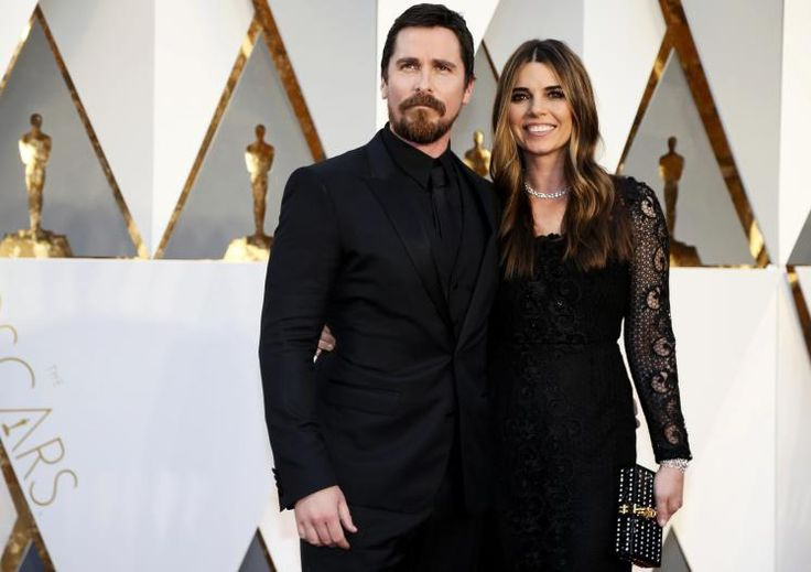 "Oscars 2016: Christian Bale (""The Big Short"") mit Ehefrau Sibi Blazic. (Bild: Reuters)"