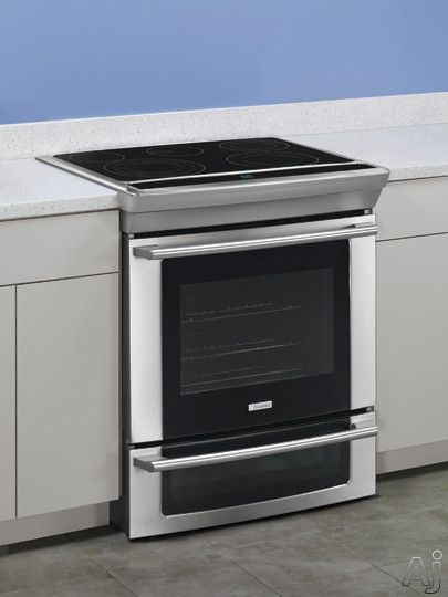 9fc26dbdbae19609bd2f0efa5bac892f double ovens electrolux 13 best slide in ranges images on pinterest slide in range, a Electrolux Appliances at aneh.co