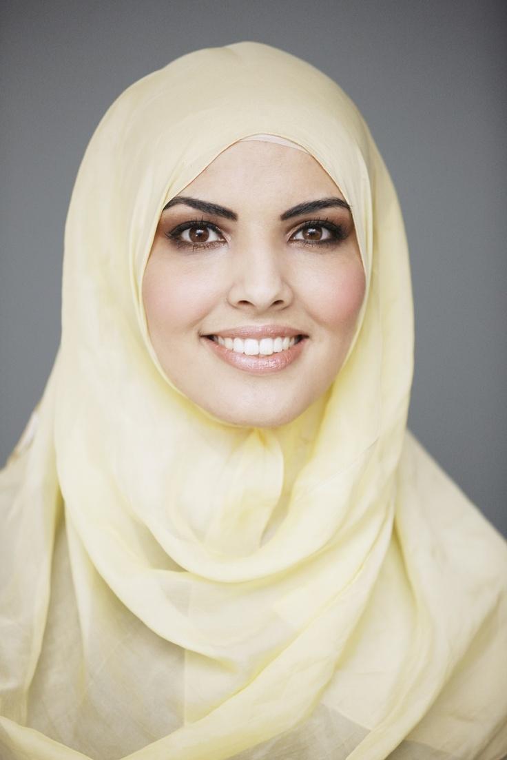 Girls tiny muslim woman