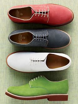cool colorful casual men's shoes - perhaps a slight upgrade from the multi-colored converse collection