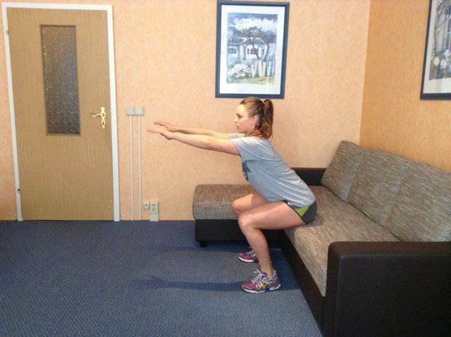 20 exercises to do at home without equipment