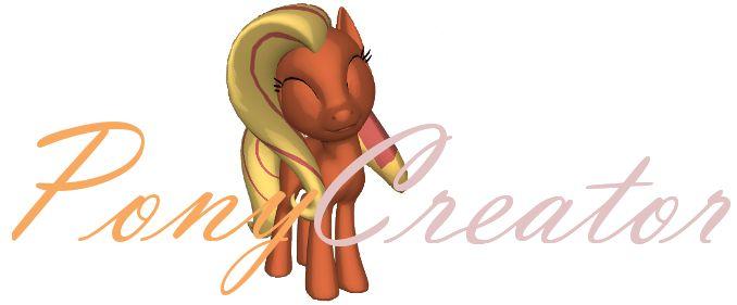 3D PONY CREATOR fur u pony luvas TRY THIS OOUUUTTTT!!!!!!!