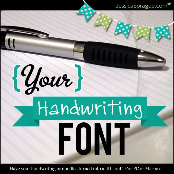 how to make your own font for mac