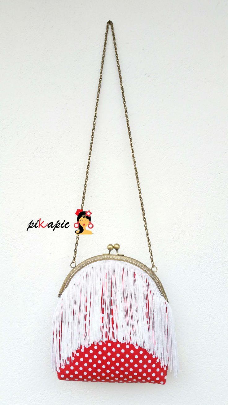 www.pikapic.es Bolso flamenco de flecos