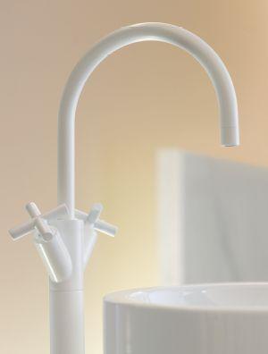 White Faucet:  Master Bath  Tara. / Bath & Spa / fitting / Dornbracht