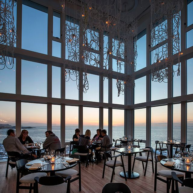 Rated one of the top 10 Restaurants inn Canada for 2013, Fogo Island Inn in Newfoundland