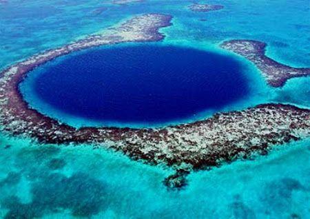 El Gran Agujero Azul en Belice y la clave de la civilización maya - http://vivirenelmundo.com/el-gran-agujero-azul-en-belice-y-la-clave-de-la-civilizacion-maya/5236