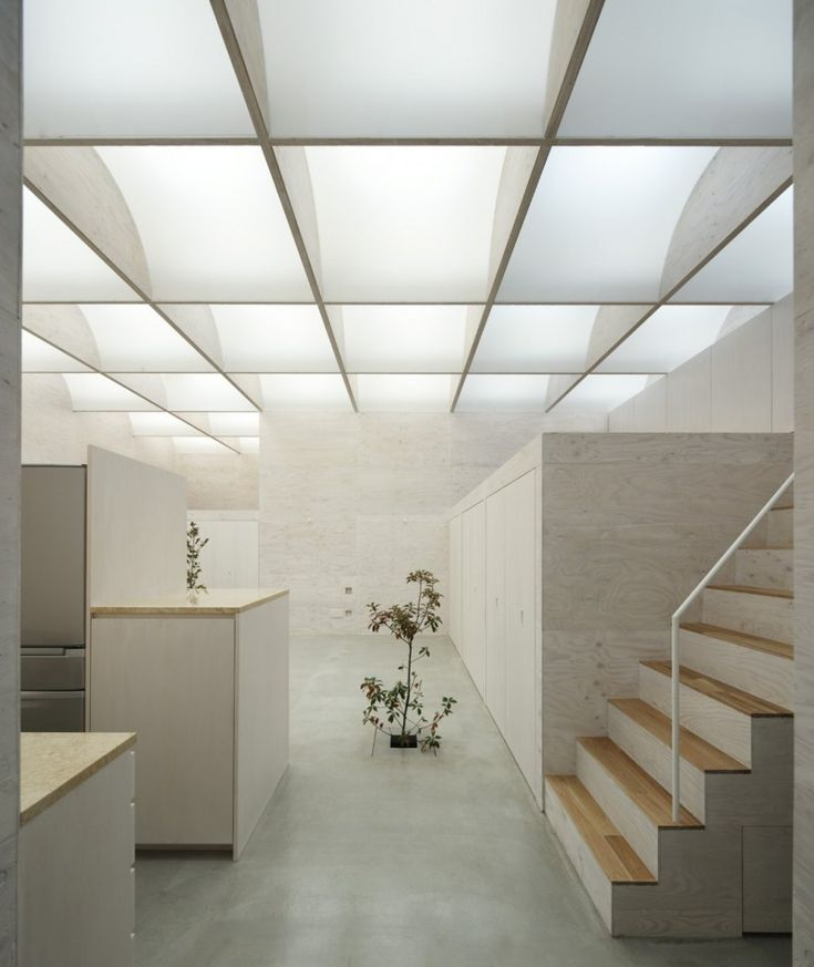Daylight House by Takeshi Hosaka Architects.