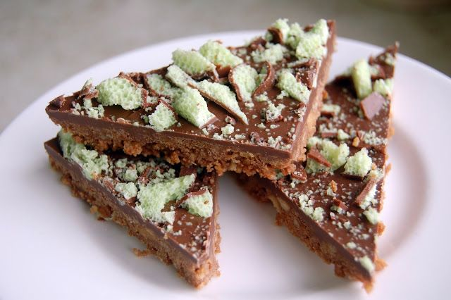 Nadine's Notebook: Mint Aero Slice