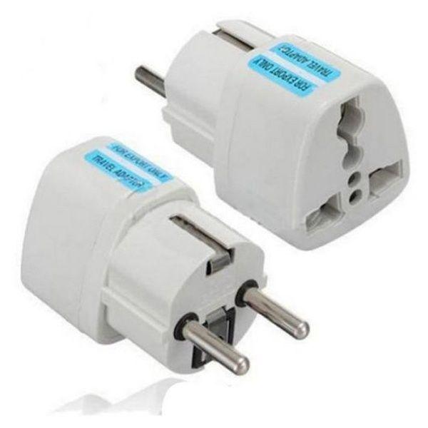 Usa Us Uk Au To Eu Europe Travel Charger Power Adapter Converter Wall Plug Home Wish Travel Plug Ideas Of Travel Plug Travelplug