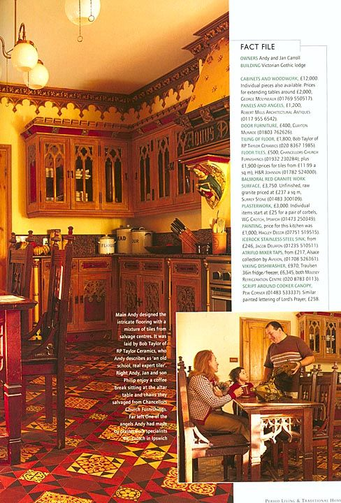 Gothic kitchen | Gothic Revival | Pinterest | Gothic ...