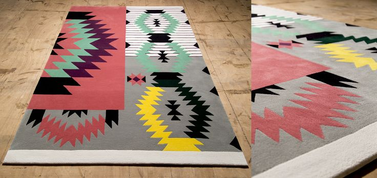 Ironic Rug by Dare to Rug  Available dimensions: 1.2 x 1.7 m; 1.7 x 2.4 m Manufacturing technique: Hand Tufted Fiber content : 100% New Zealand wool Total height aprox.: 20 mm Backsizing : Cotton  #daretorug #handtufted #rug #interiordesign