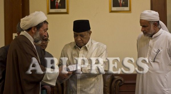 Silaturahmi Ulama Iran ke PBNU Pusat ~ http://goo.gl/Qczzco