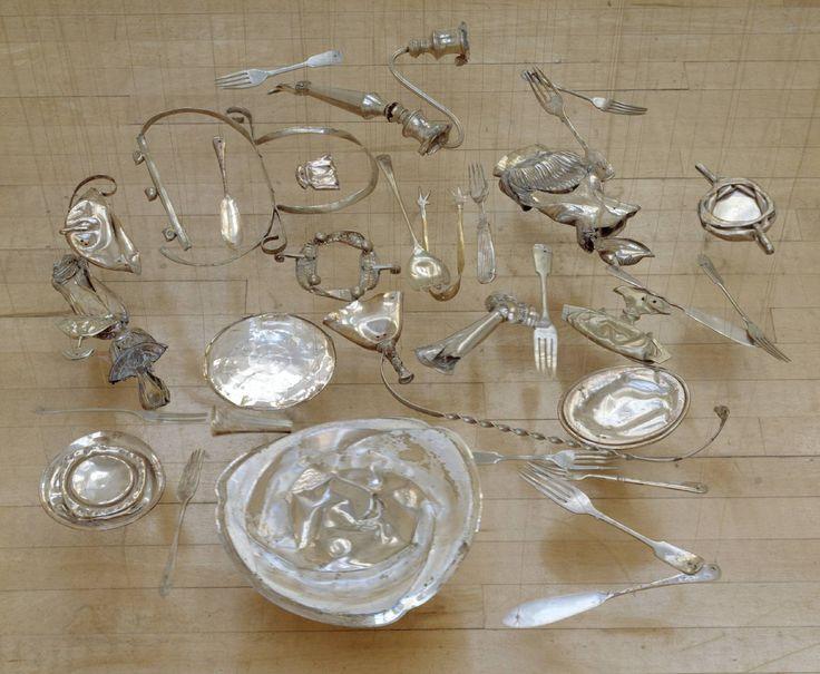 Cornelia Parker, 'Thirty Pieces of Silver' 1988-9