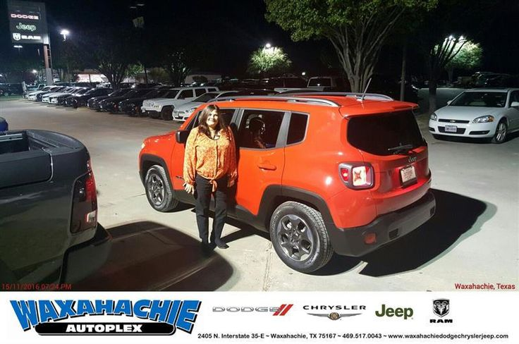 https://flic.kr/p/NMUQGC   Congratulations Evelyn on your #Jeep #Renegade from Henrex McCrimon at Waxahachie Dodge Chrysler Jeep!   deliverymaxx.com/DealerReviews.aspx?DealerCode=F068