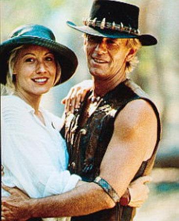 Crocodile Dundee - Paul Hogan and Linda Kozlowski