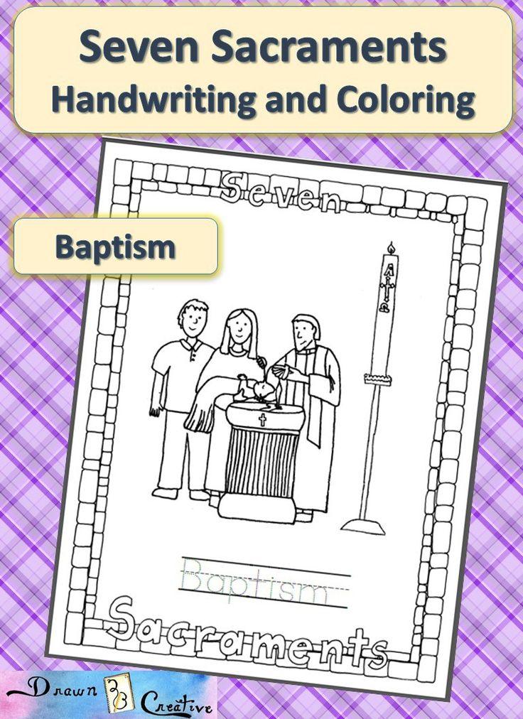 coloring pages 7 sacraments - photo#26