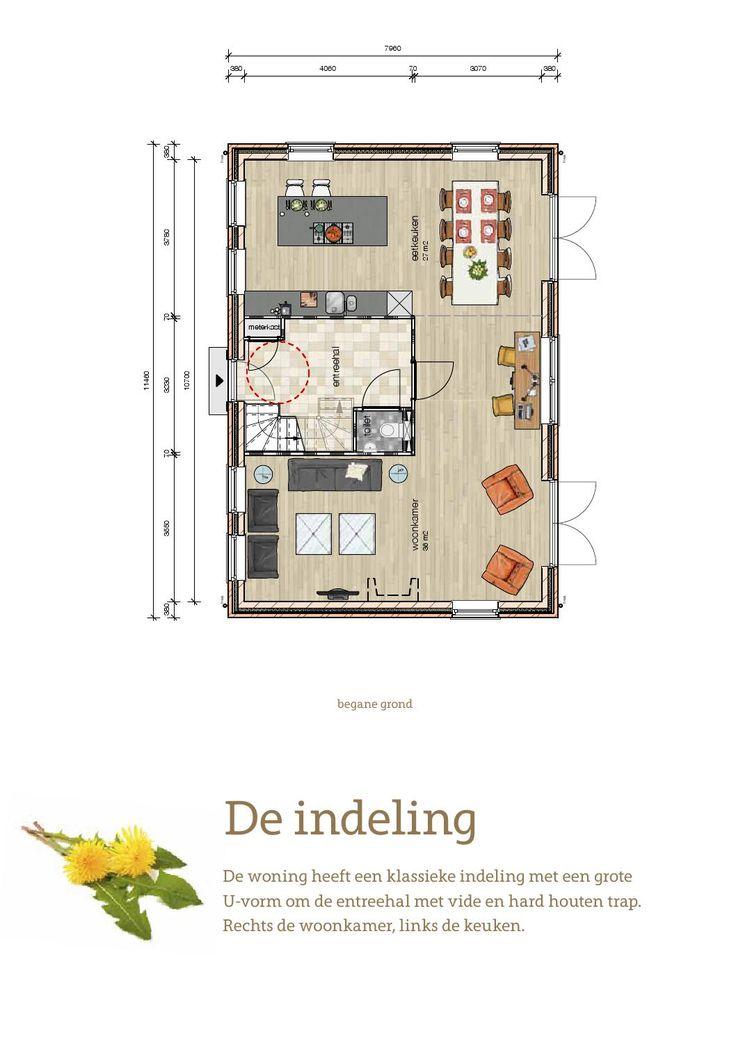 Brochure Molendijk, Oudenhoorn. Vrij Wonen in een vrijstaande notariswoning, gelegen aan de Molendijk in Oudenhoorn.