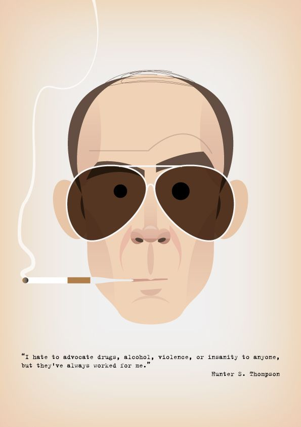 Stanley Chow - Hunter S. Thompson