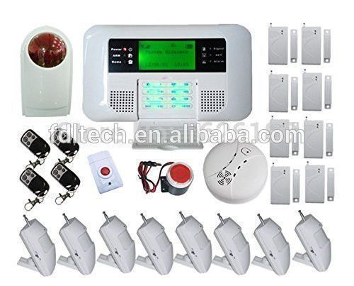 Wholesale FDL-40B-5 DHL free shipping Wireless Wired GSM PSTN Intelligent Home Security Alarm System,best gsm home alarm system From m.alibaba.com