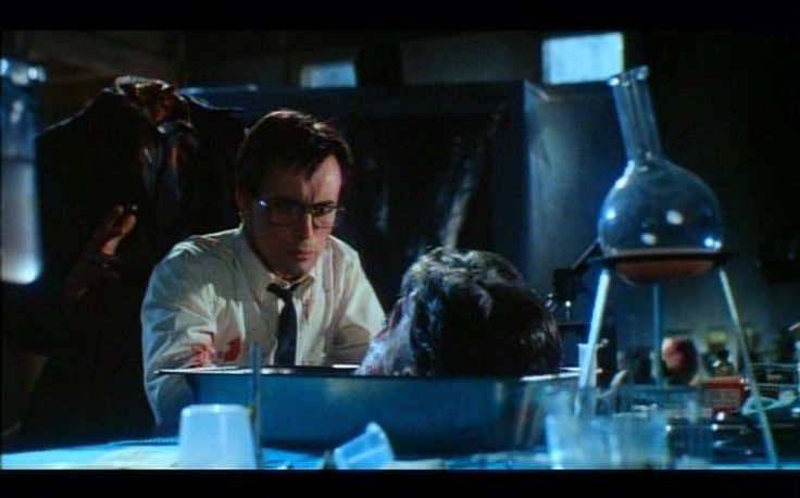 Re-Animator film Jeffrey Combs: Dr. Herbert West