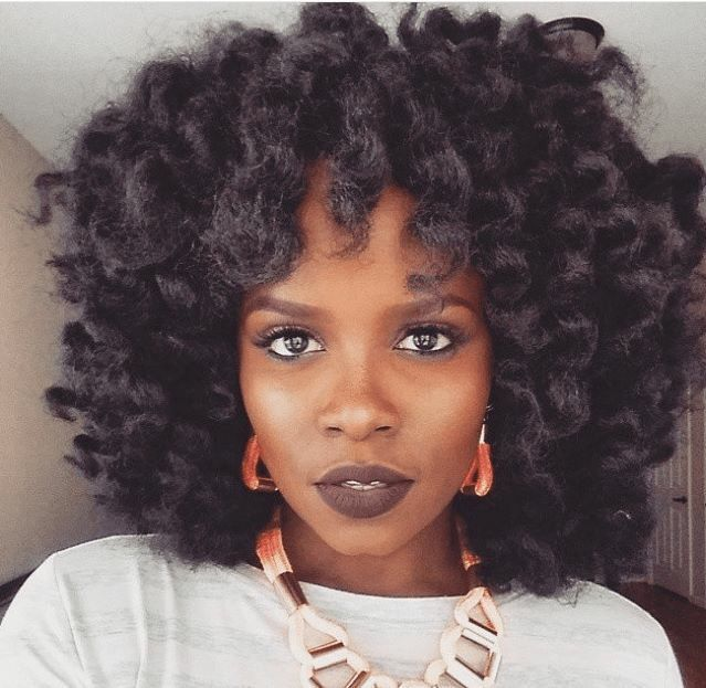 Crochet Braids Curly Afro : Crochet Braids Amazing Natural Hair Pinterest Hairstyles, Braids ...
