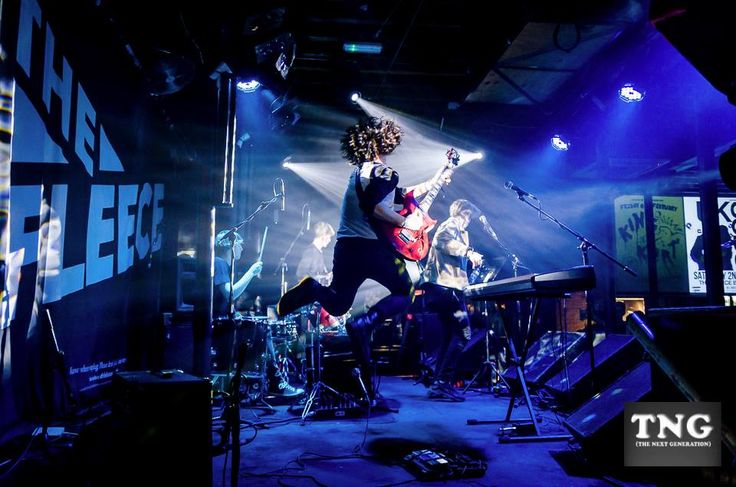 Here is a picture of red room performing live, this shows that they are an energetic band, a factor which could be used in the music video.